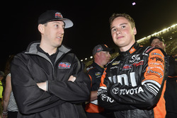 Christopher Bell, Kyle Busch Motorsports, Toyota; Kyle Busch, Kyle Busch Motorsports