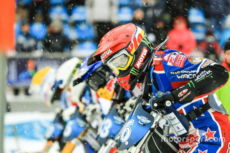 Two wheels Ice Speedway Gladiators