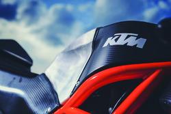 Detalle de la moto de Red Bull KTM Ajo