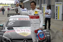 Polesitter: Robert Wickens, Mercedes-AMG Team HWA, Mercedes-AMG C63 DTM