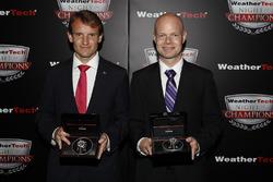 Antonio Garcia and Jan Magnussen with Tudor Watches