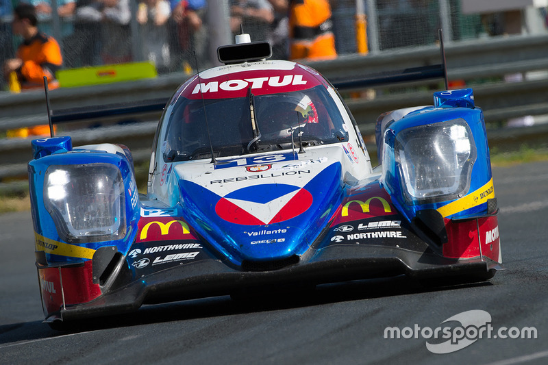 LMP2: #13 Vaillante Rebellion Racing, Oreca 07 Gibson
