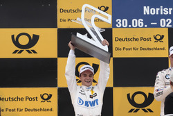 Podium: 2. Lucas Auer, Mercedes-AMG Team HWA, Mercedes-AMG C63 DTM
