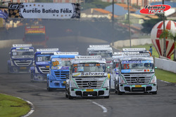 Largada da Fórmula Truck em Londrina