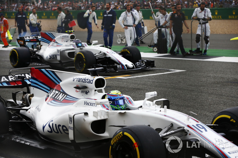Фелпе Масса, Williams FW40, Ленс Стролл, Williams FW40