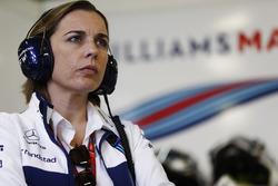 Claire Williams, Deputy Team Principal, Williams
