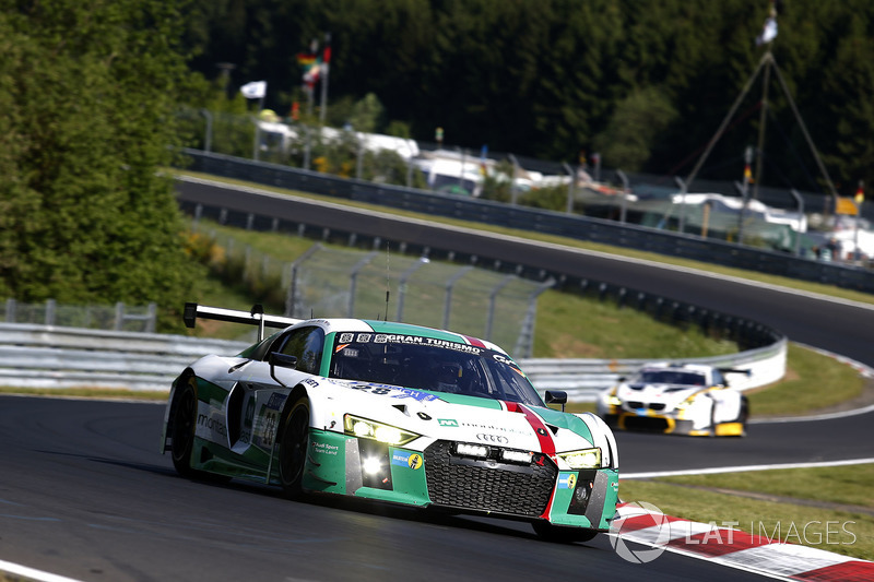 8. #28 Audi Sport Team Land-Motorsport, Audi R8 LMS
