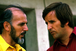 Don Nichols, Shadow-Teambesitzer; Heinz Hofer, Penske-Teammanager