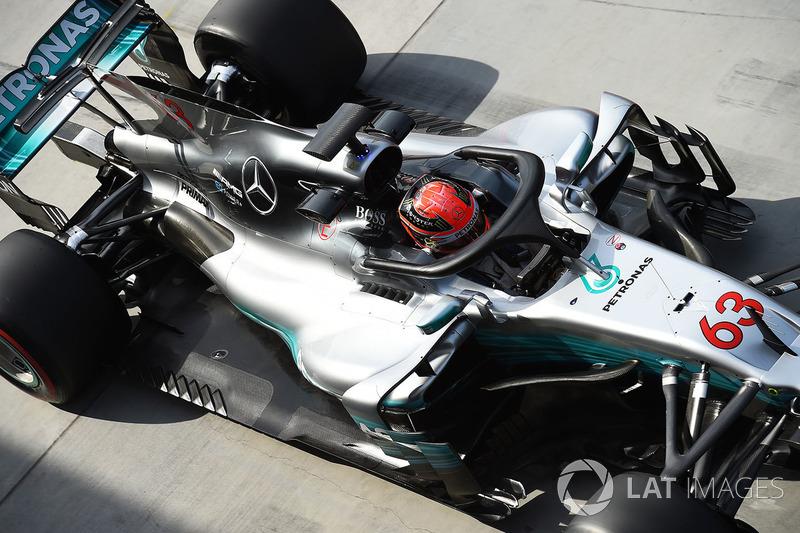 Джордж Рассел, Mercedes-Benz F1 W08 з Halo