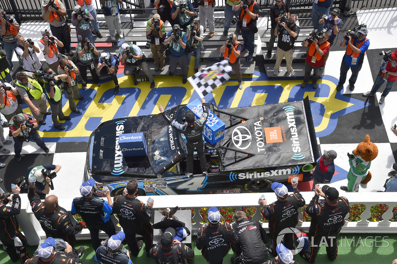 Ganador Christopher Bell, Kyle Busch Motorsports Toyota