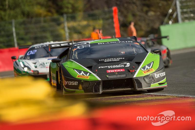 #63 GRT Grasser Racing Team Lamborghini Huracan GT3: Mirko Bortolotti, Christian Engelhart, Andrea Caldarelli