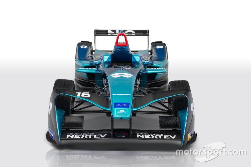 Автомобиль NIO Formula E team на сезон 2017/18