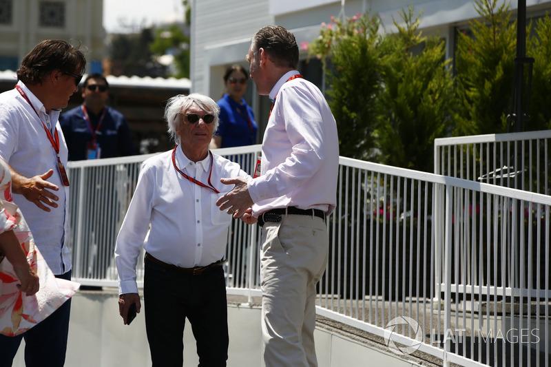 Bernie Ecclestone, Ex-F1-Besitzer, Sean Bratches, Direktor F1