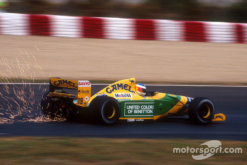 F1, Barcelona 1992: Michael Schumacher, Benetton B192