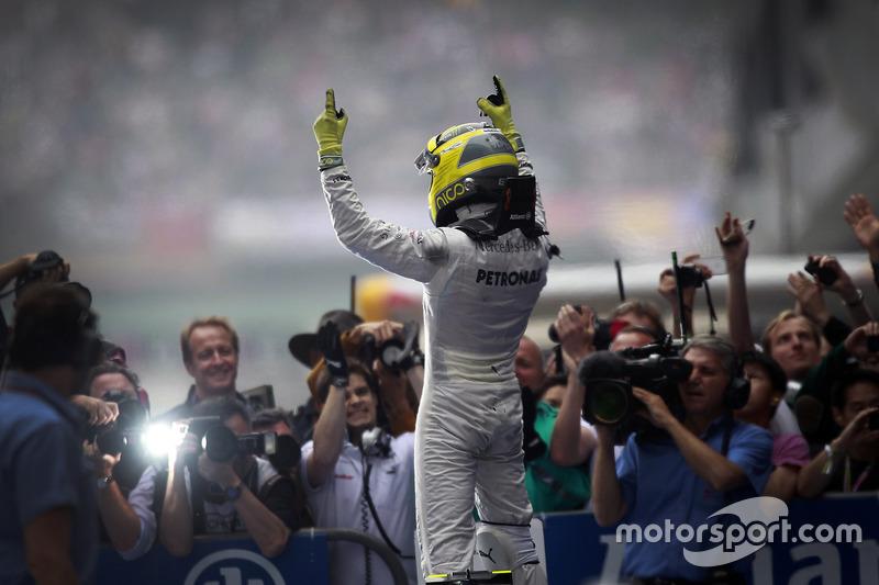 Nico Rosberg, Primera victoria de F1 de Mercedes AMG - China 2012