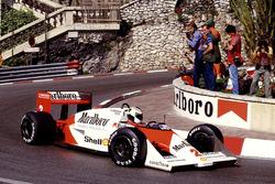 Stefan Johansson, McLaren MP4/3 TAG Porsche