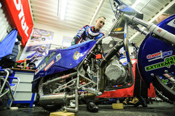 Дмитрий Колтаков и его мотоцикл