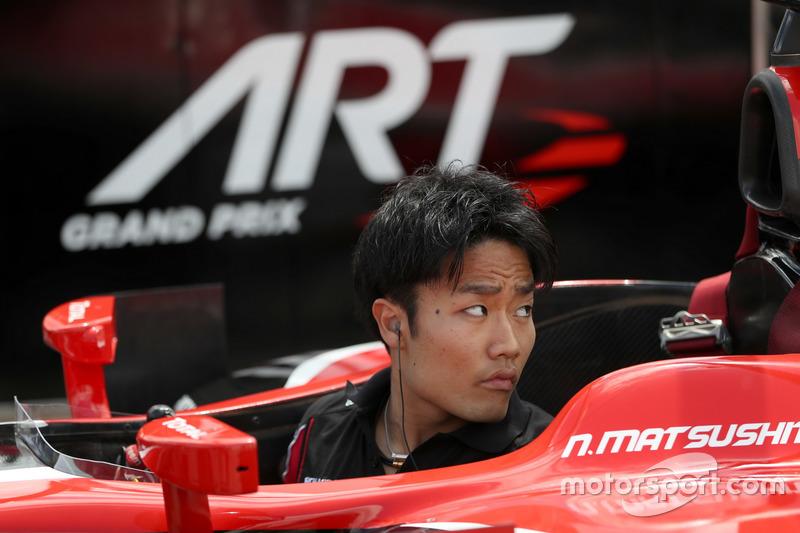 Пит-стоп: Нобухару Мацушита, ART Grand Prix
