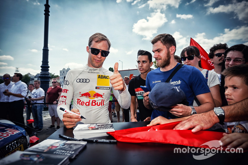 Маттіас Екстрьом, Audi Sport Team Abt Sportsline, Audi A5 DTM, з фанатами
