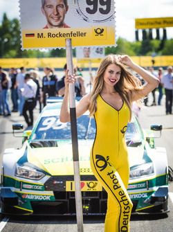 Gridgirl für Mike Rockenfeller, Audi Sport Team Phoenix, Audi RS 5 DTM