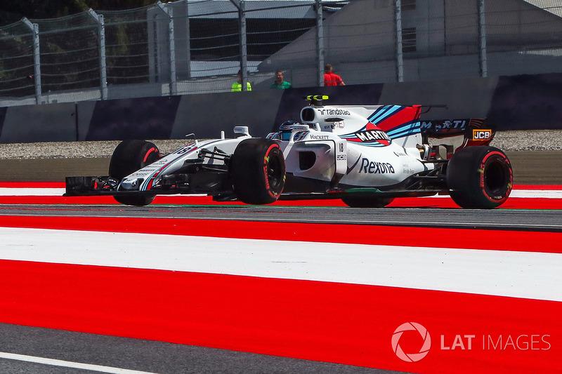 18. Ленс Стролл, Williams FW40