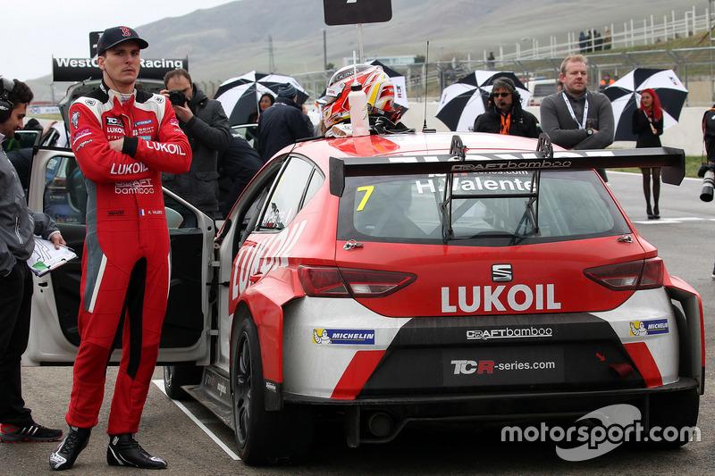 Hugo Valente, Lukoil Craft-Bamboo Racing, SEAT León TCR