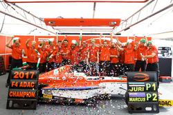Meister 2017, Juri Vips, Prema Powerteam und sein Team