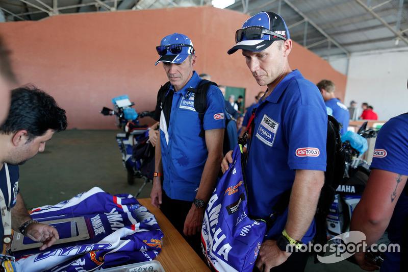 Rodney Faggotter, Yamaha Official Rally Team
