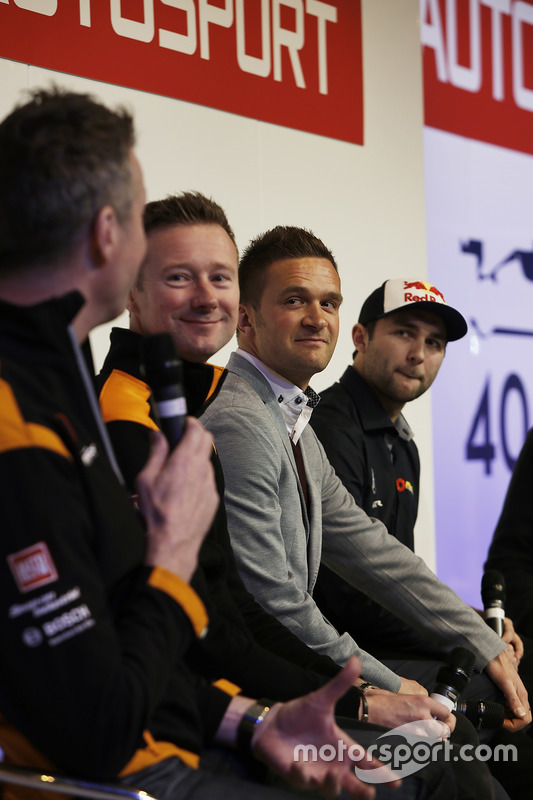 Matt Neal, Gordon Shedden, Colin Turkington y Andrew Jordan