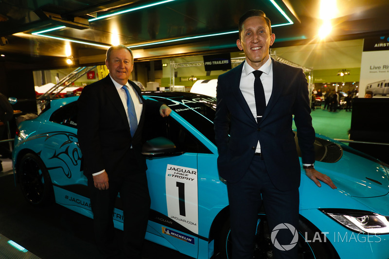 The Jaguar I-Pace eTrophy is launched, James Barclay and Pascal Couasnon