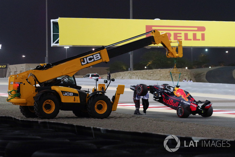 El auto de Daniel Ricciardo, Red Bull Racing RB14