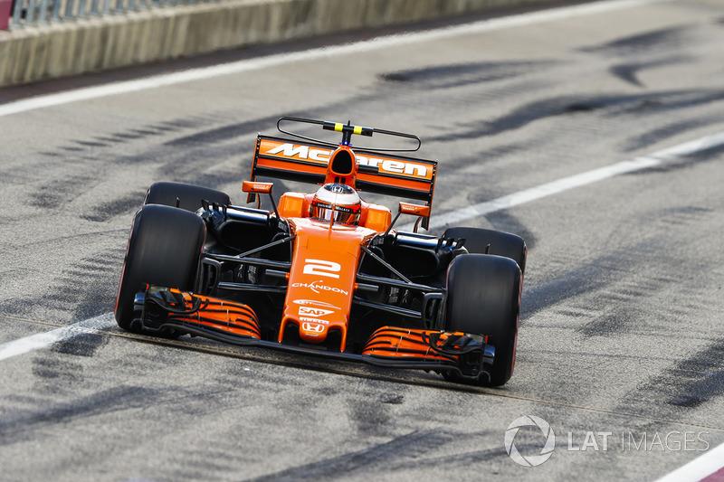 Stoffel Vandoorne, McLaren MCL32 (P)