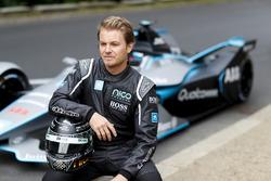 Le Champion du monde de F1, Nico Rosberg avec la Formule E Gen2