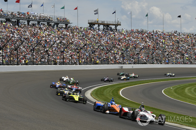 Was it too hard to pass at the Indy 500 (pictured) and ABC Supply 500 at Pocono last year? Many thought so, thus IndyCar and Firestone have worked on solutions.