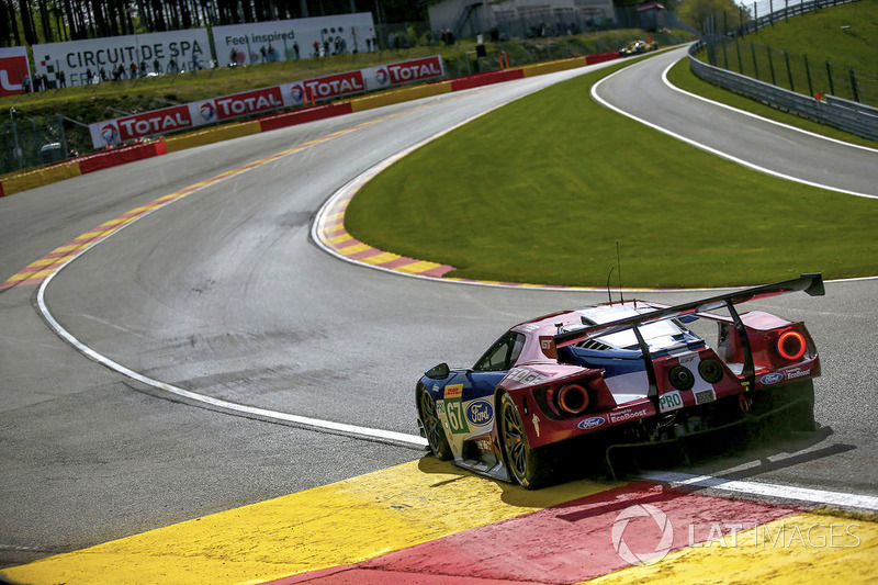 #67 Ford Chip Ganassi Racing Ford GT: Andy Priaulx, Harry Tincknell, Tony Kanaan