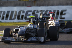 Nico Rosberg, Mercedes GP W01, Michael Schumacher, Mercedes GP W01