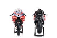Bikes of Andrea Dovizioso and  Jorge Lorenzo, Ducati Team