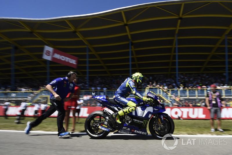 Valentino Rossi continua sem vencer na MotoGP