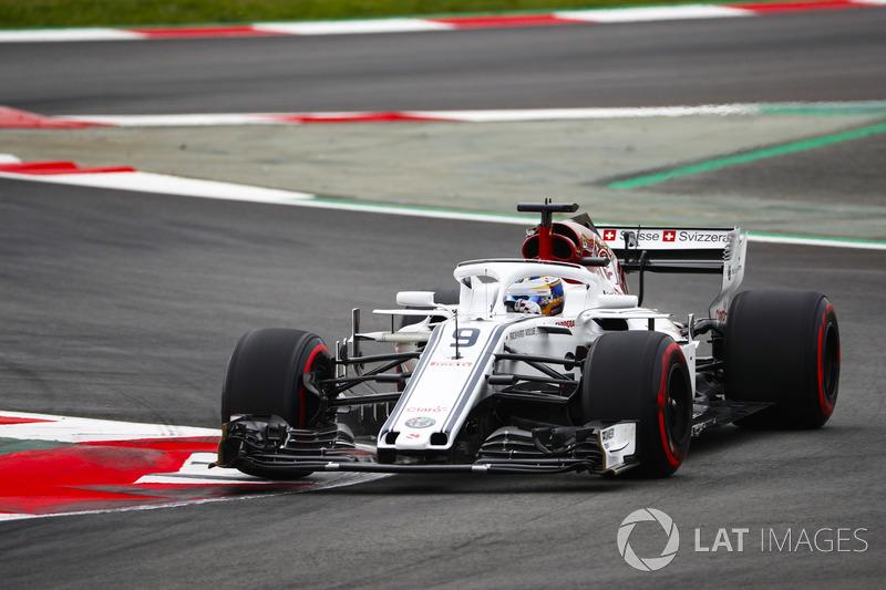 12. Marcus Ericsson, Sauber C37