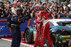 GTE Yarış galibi  #55 Spirit of Race Ferrari F488 GTE: Duncan Cameron, Matthew Griffin, Aaron Scott