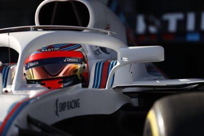 Williams FW41 lancering