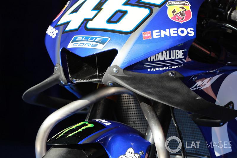 Valentino Rossi, Yamaha Factory Racing fairing