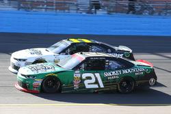 Daniel Hemric, Richard Childress Racing Chevrolet, Blake Koch, Kaulig Racing Chevrolet