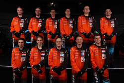 Deelnemers aan de McLaren World's Fastest Gamer