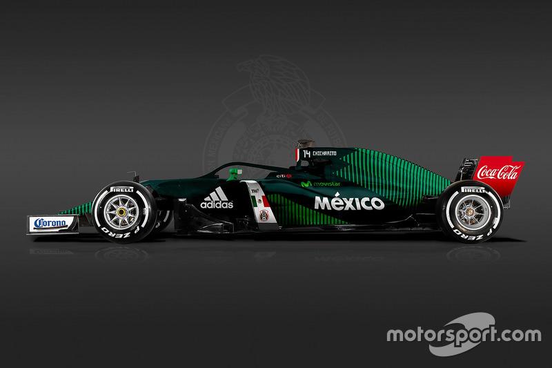 Formula 1 Dünya Kupası tasarımları - Meksika