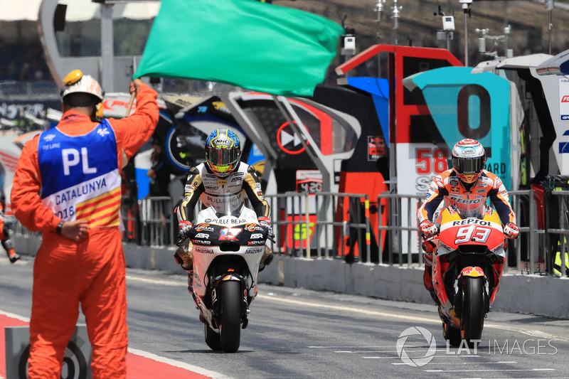 Karel Abraham, Angel Nieto Team, Marc Marquez, Repsol Honda Team