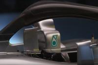 Mercedes AMG F1 W09 halo detail