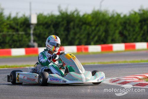 Teste de Sebastian Vettel na Tony Kart