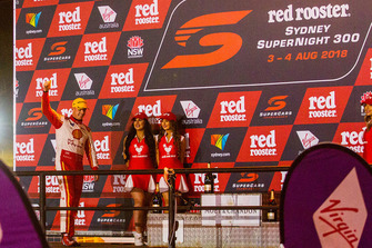 Podium: third place Scott McLaughlin, DJR Team Penske Ford