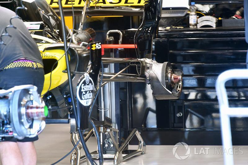Задня підвіска Renault Sport F1 Team R.S. 18